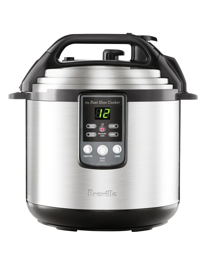 The Fast Slow Cooker: Stainless Steel BPR650BSS image 2
