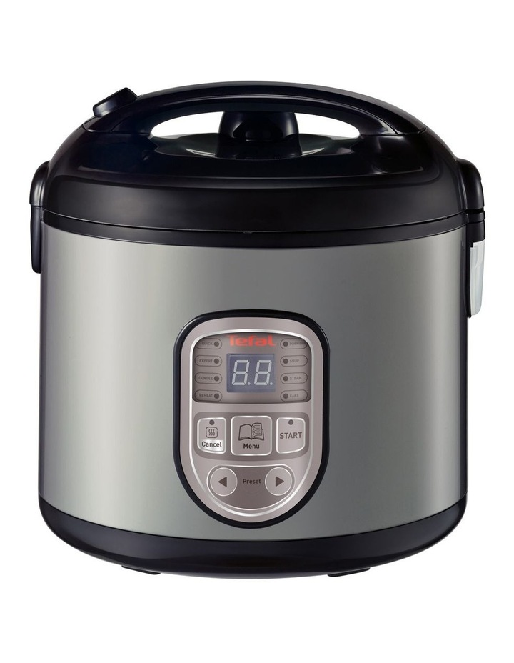 8 in 1 Rice & MultiCooker: Silver/Black RK106 image 1