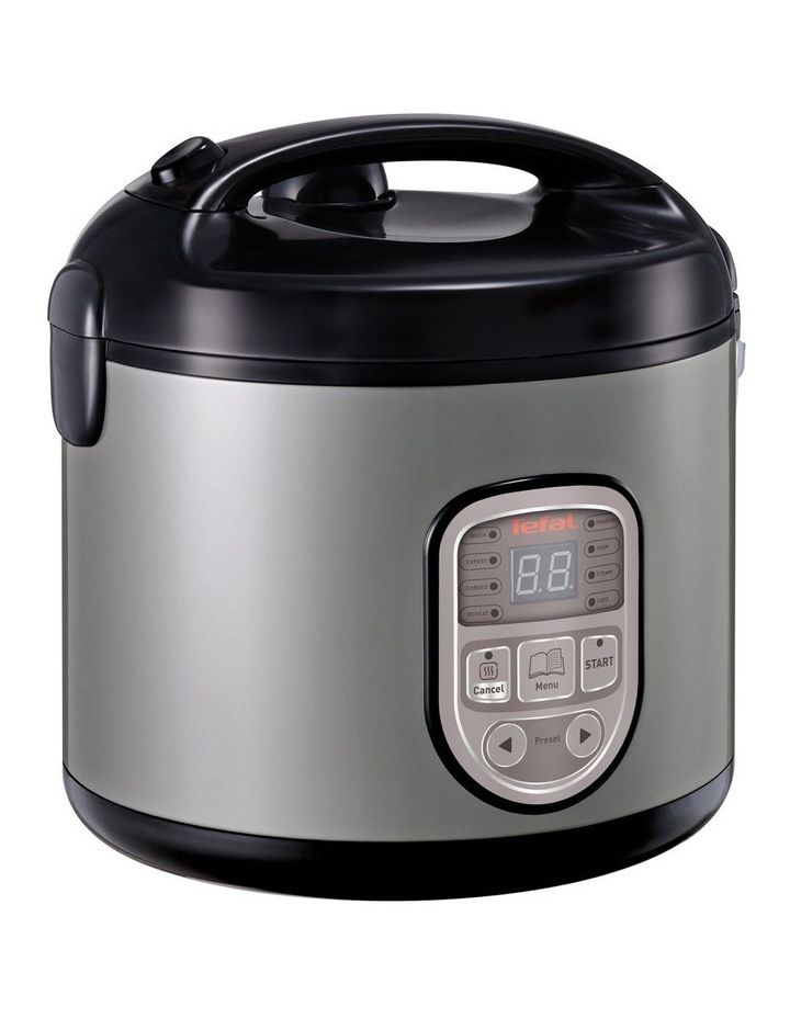 8 in 1 Rice & MultiCooker: Silver/Black RK106 image 2