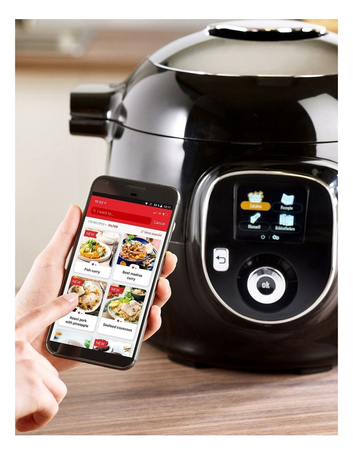 Cook4Me  Multi Cooker in Black CY8518 image 3