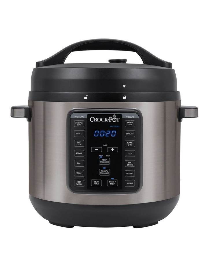 Express Crock Multi Cooker XL Stainless Steel CPE300 image 1