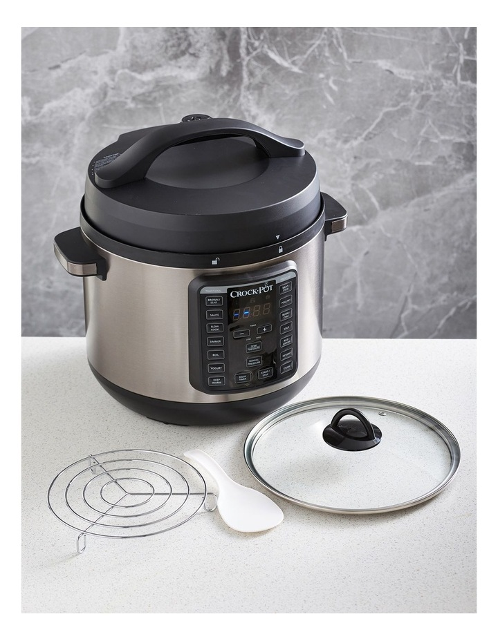 Express Crock Multi Cooker XL Stainless Steel CPE300 image 2