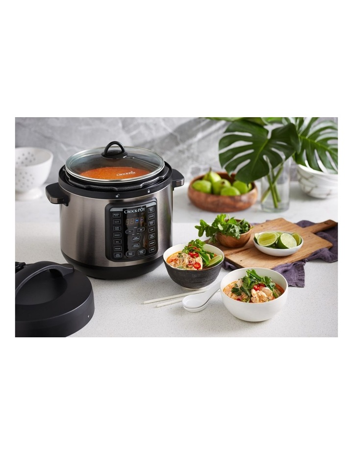 Express Crock Multi Cooker XL Stainless Steel CPE300 image 3