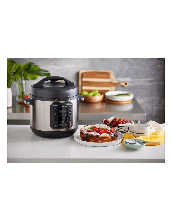 Express Crock Multi Cooker XL Stainless Steel CPE300 image 4