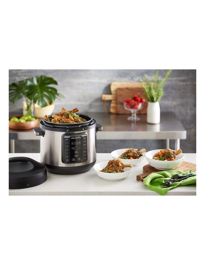 Express Crock Multi Cooker XL Stainless Steel CPE300 image 6