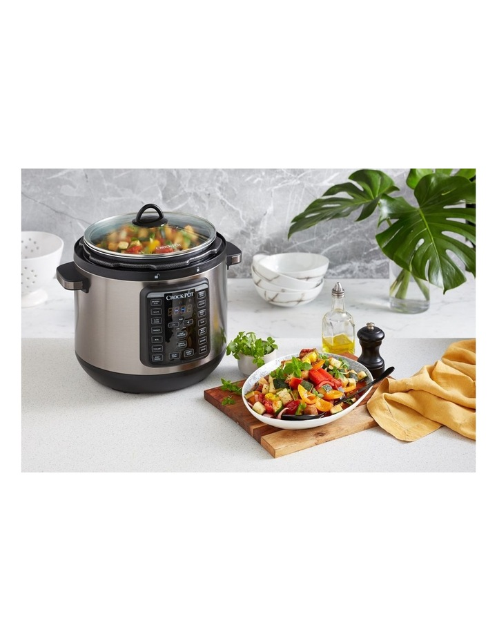Express Crock Multi Cooker XL Stainless Steel CPE300 image 7
