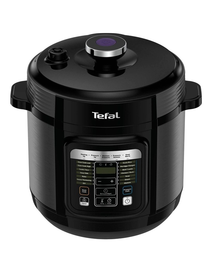 Home Chef Smart Multicooker (Black & Silver) - CY601 image 1
