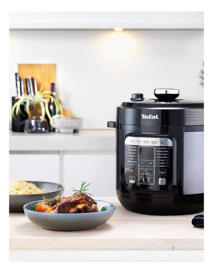 Home Chef Smart Multicooker (Black & Silver) - CY601 image 2