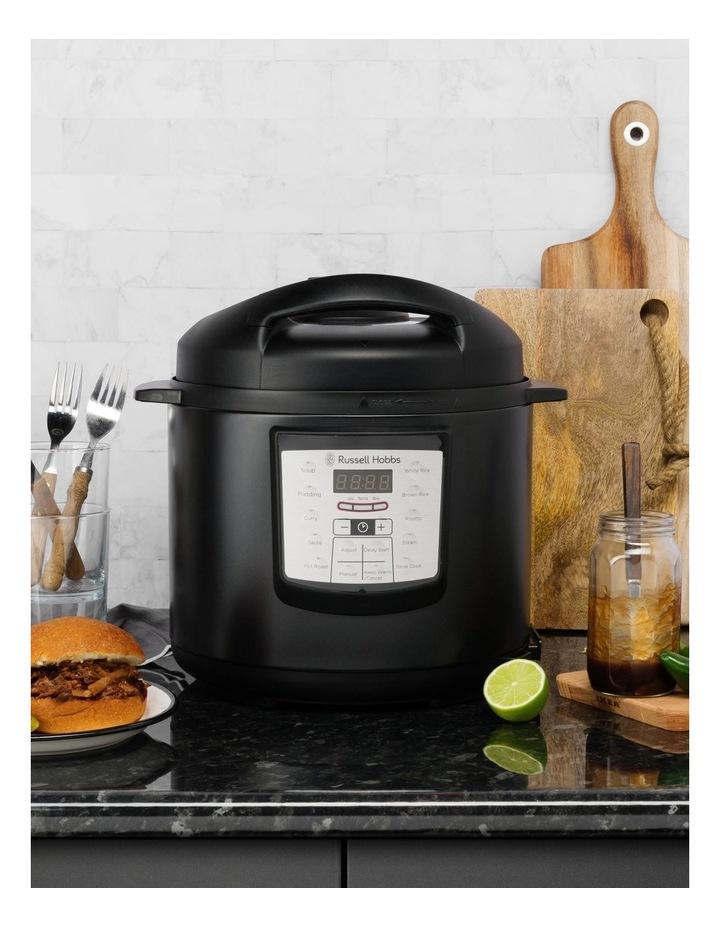 Express Chef Digital Multi Cooker Matte Black RHPC1000BLK image 5
