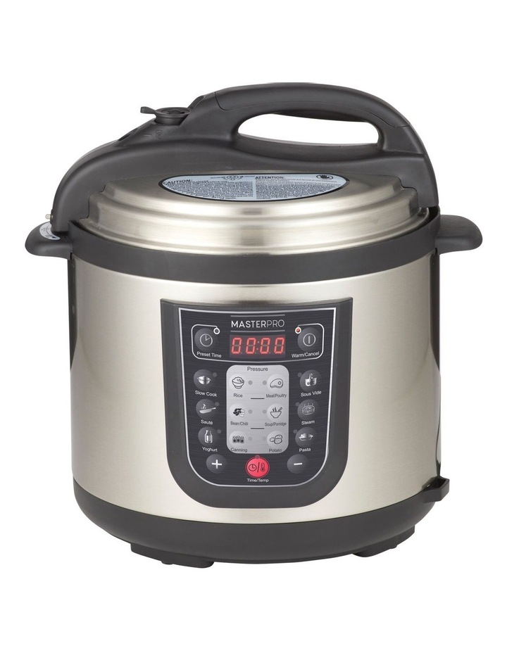 12 in 1 Multi Cooker Stainless Steel MPMULTICOOK image 1