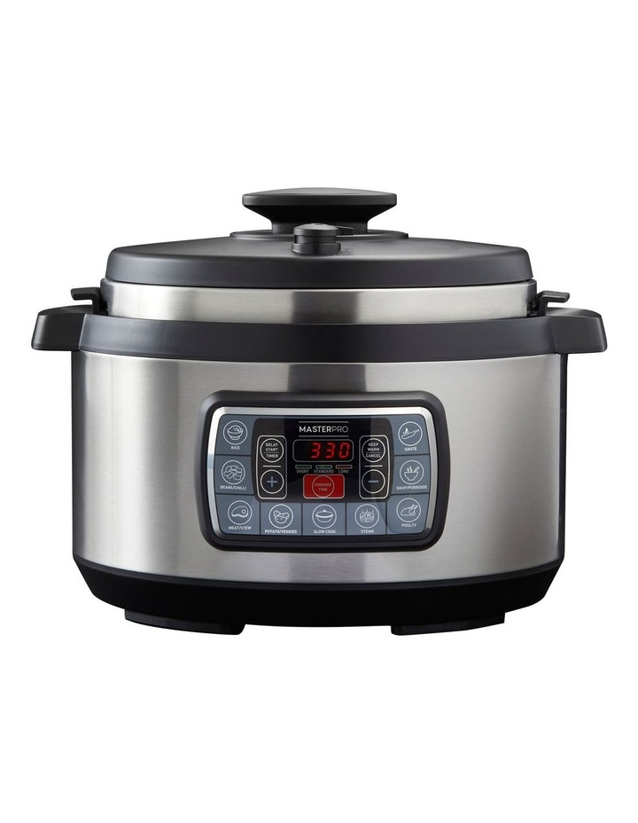 8L 12-in-1 Ultimate Cooker Stainless Steel MPULTIMATECOOK image 1