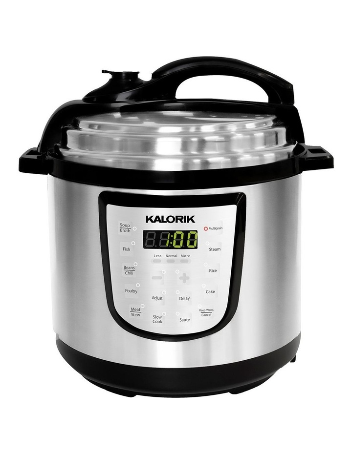 6L Digital Pressure Cooker Stainless Steel EPCK47464SS image 1
