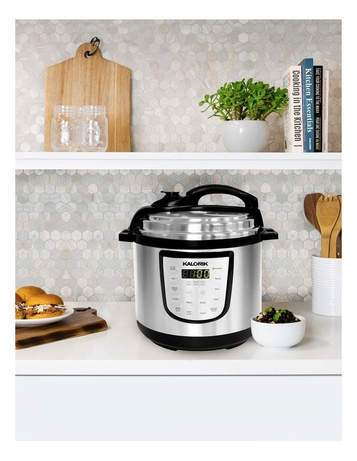 6L Digital Pressure Cooker Stainless Steel EPCK47464SS image 2