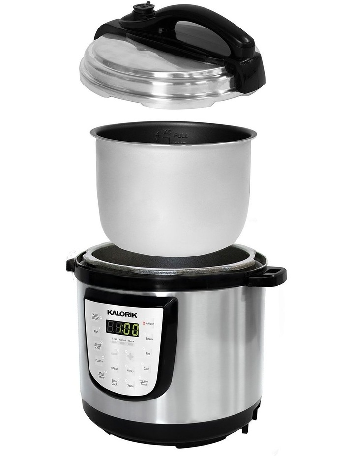 6L Digital Pressure Cooker Stainless Steel EPCK47464SS image 3