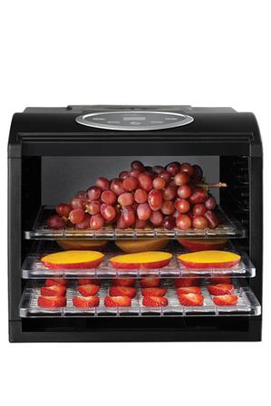 Sunbeam - DT6000 Food Lab Electronic Dehydrator: Black
