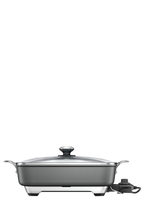 Breville - the Thermal Pro Non-Stick Frypan BEF460GRY