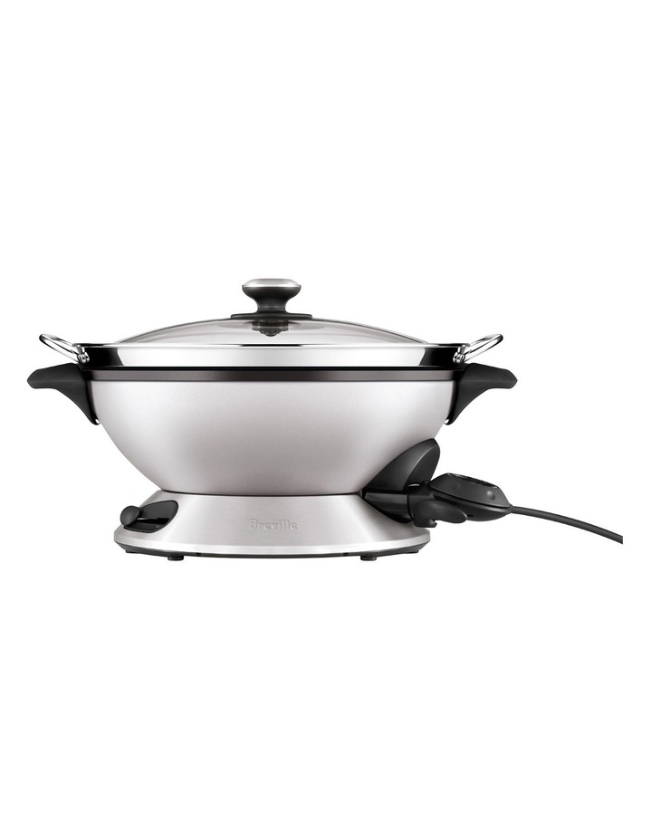 The Hot Wok & Steamer: Stainless Steel BEW820BSS image 2
