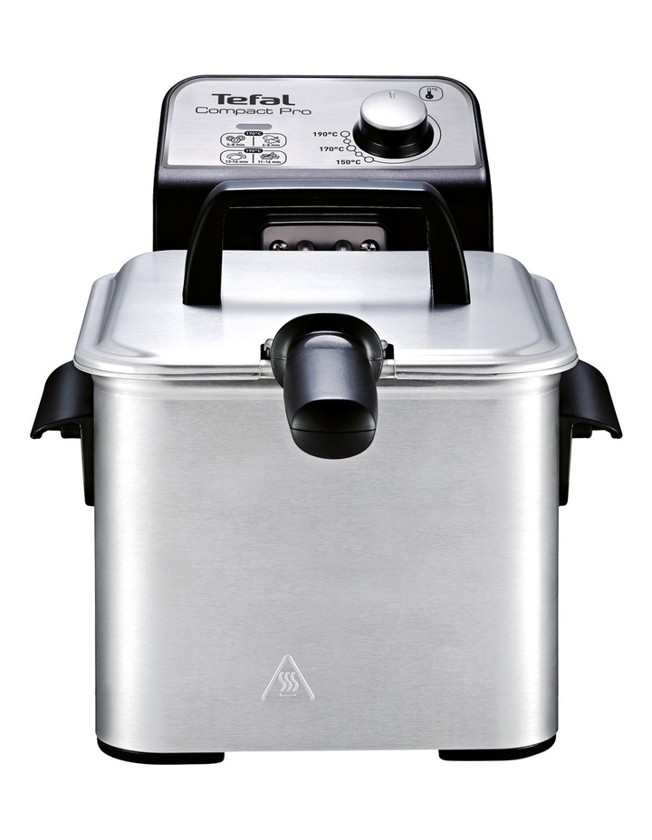 Compact Pro Deep Fryer: Silver image 2
