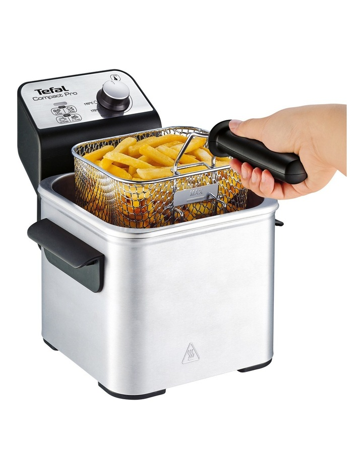 Compact Pro Deep Fryer: Silver image 4