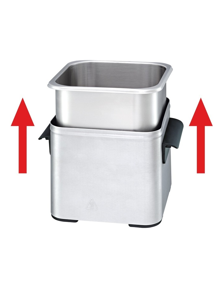 Compact Pro Deep Fryer: Silver image 5