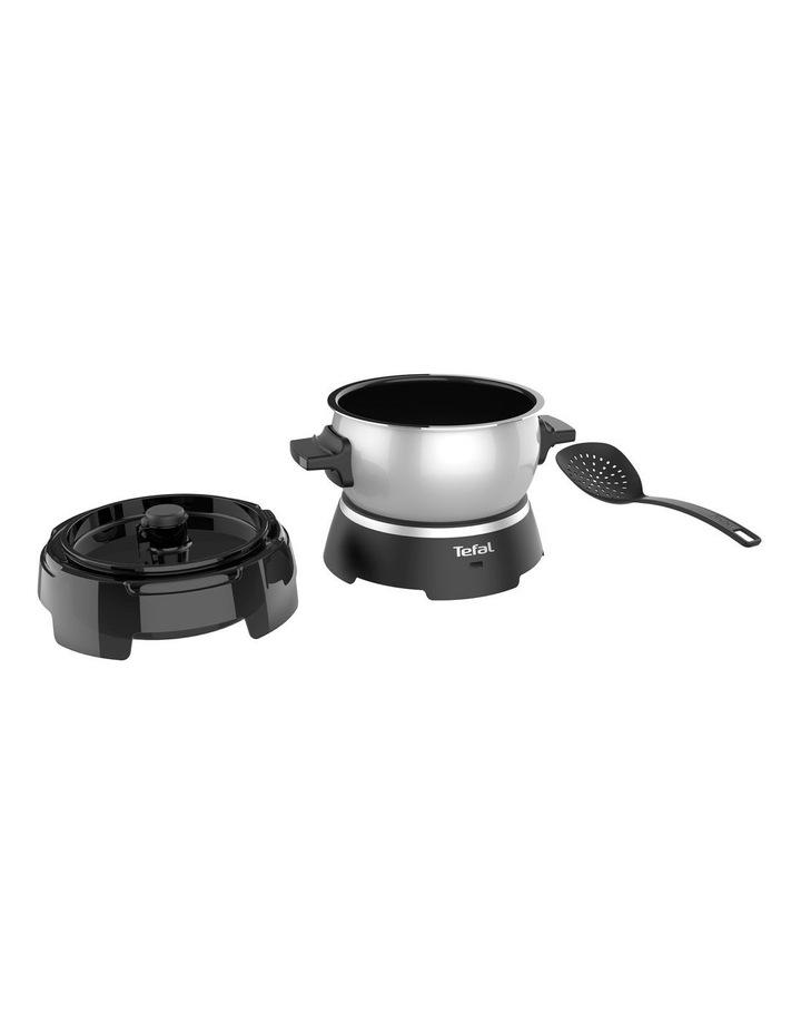 Oleoclean Snack Deep Fryer (Black & Silver) - FF245E image 3