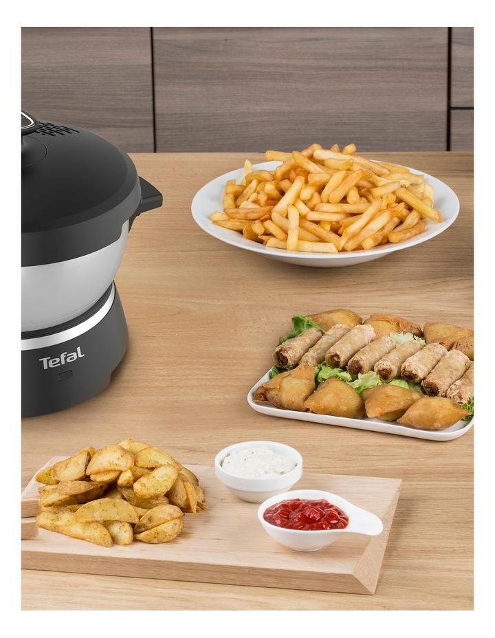 Oleoclean Snack Deep Fryer (Black & Silver) - FF245E image 5