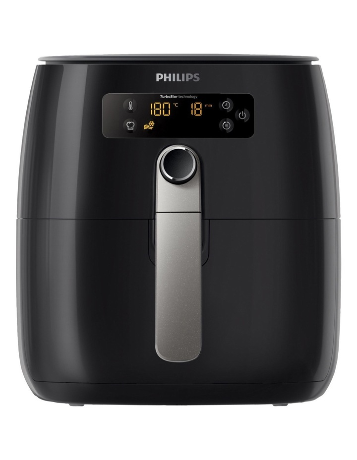 Airfryer TurboStar Digital Black HD9643/17 image 1