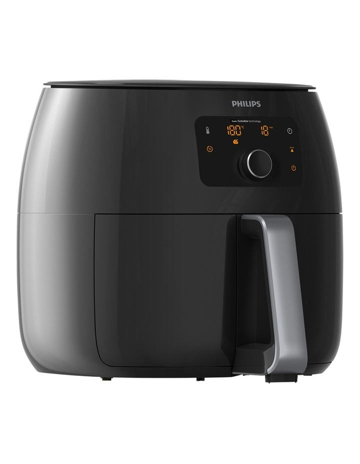 Twin TurboStar Airfryer: Black HD9651/91 image 2