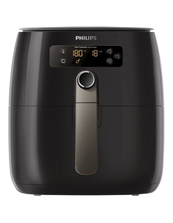 Twin TurboStar Airfryer Digital: Black HD9742/93 image 1