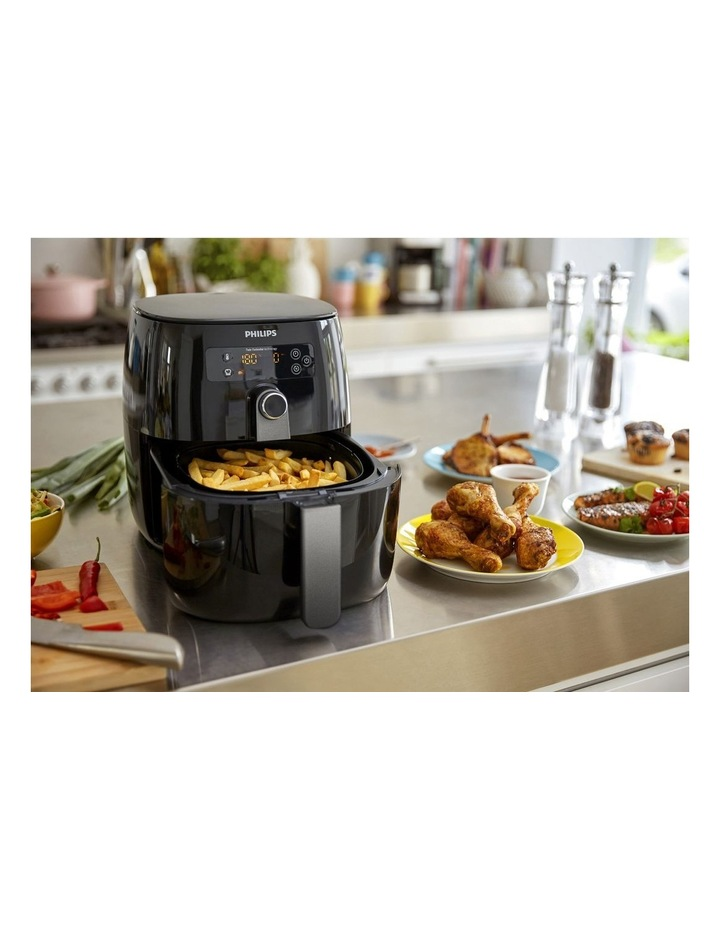 Twin TurboStar Airfryer Digital: Black HD9742/93 image 3