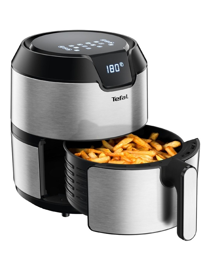 Easy Fry Deluxe Digital Air Fryer: Stainless Steel EY401D image 5