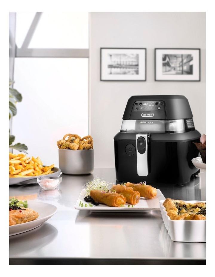 IdealFry Digital Air Fryer: Black image 7
