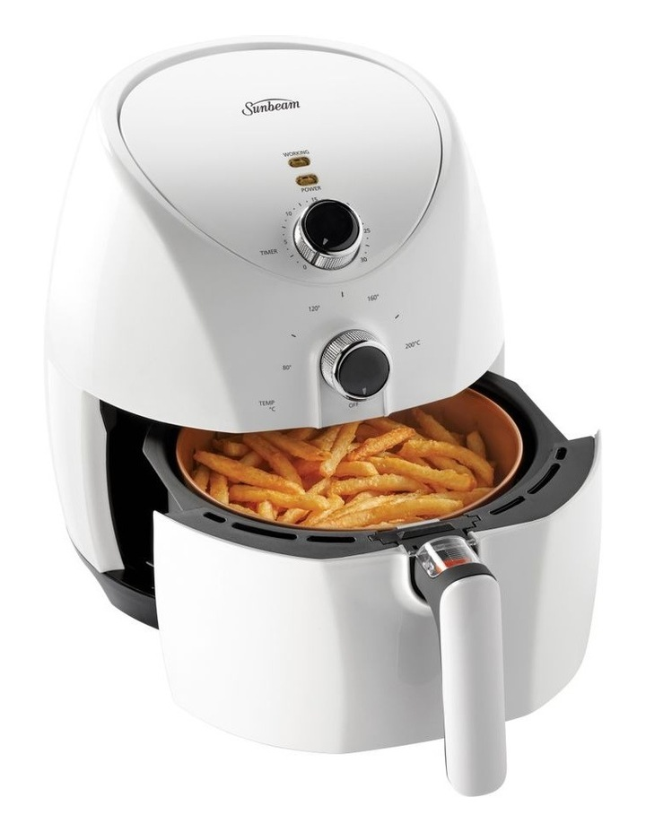Copper infused DuraCeramic Air Fryer in White AFP4000WH image 1