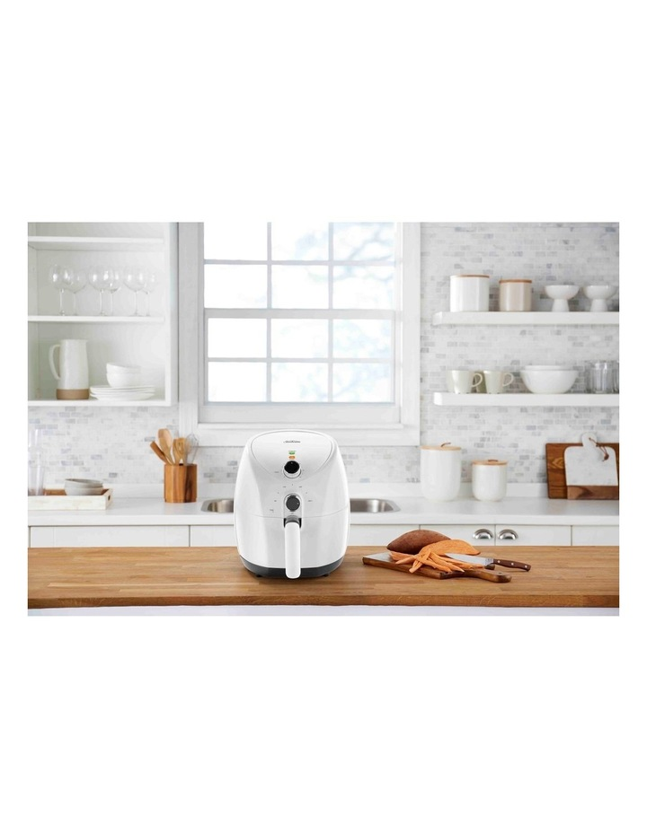 Copper infused DuraCeramic Air Fryer in White AFP4000WH image 2