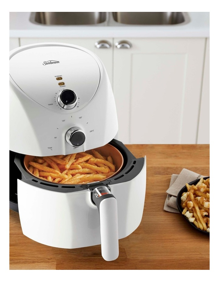 Copper Infused DuraCeramic Air Fryer AFP4000WH image 4