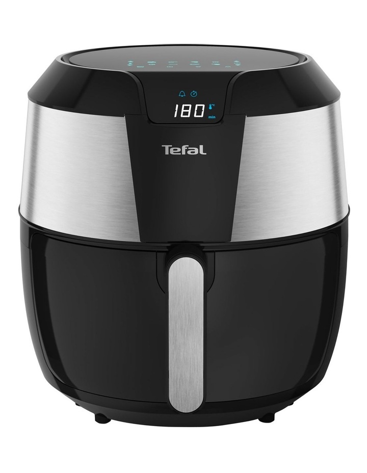 Easy Fry Deluxe XXL Air Fryer Black & Silver EY701D image 1