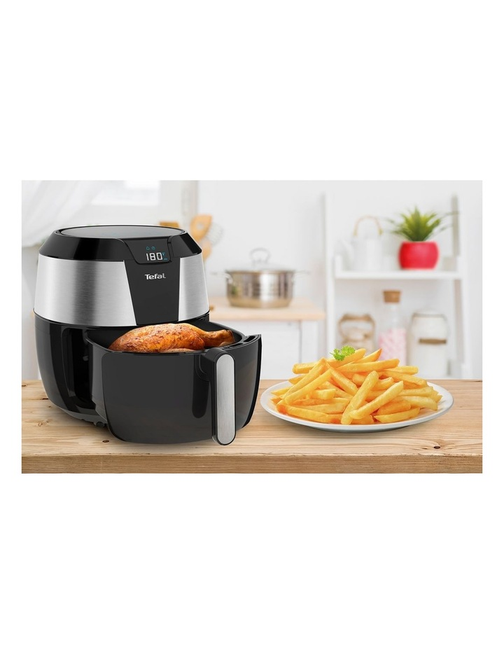 Easy Fry Deluxe XXL Air Fryer Black & Silver EY701D image 2