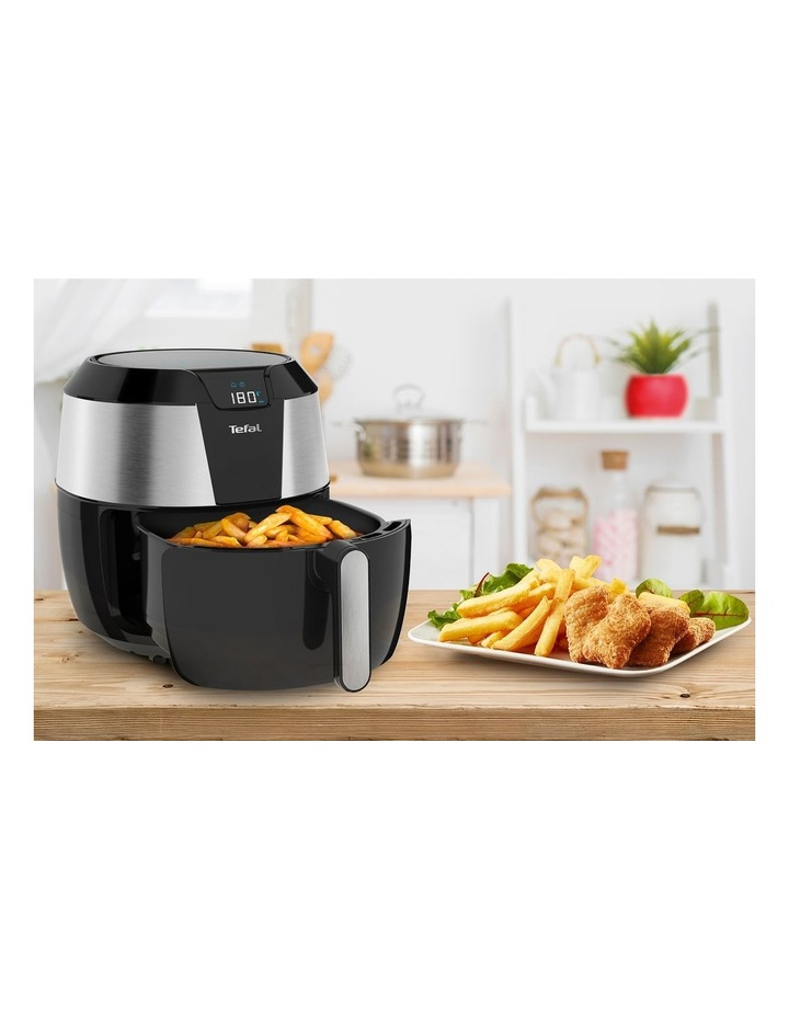 Easy Fry Deluxe XXL Air Fryer Black & Silver EY701D image 5