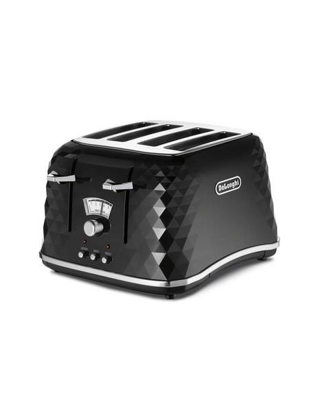 Brilliante Toaster 4 slice toaster - Black CTJ4003BK image 1