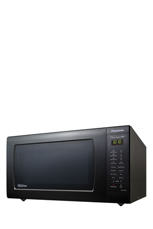 Panasonic - Inverter Sensor Microwave Oven Large: Black : NN-ST756BQPQ