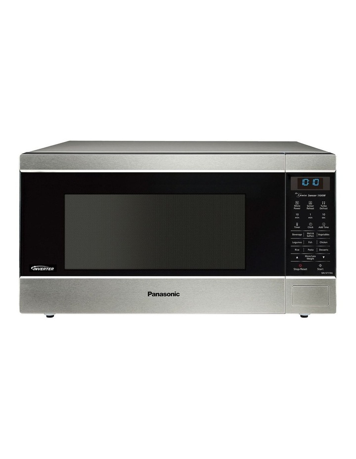 44L Microwave Stainless Steel NN-ST776SQPQ image 1