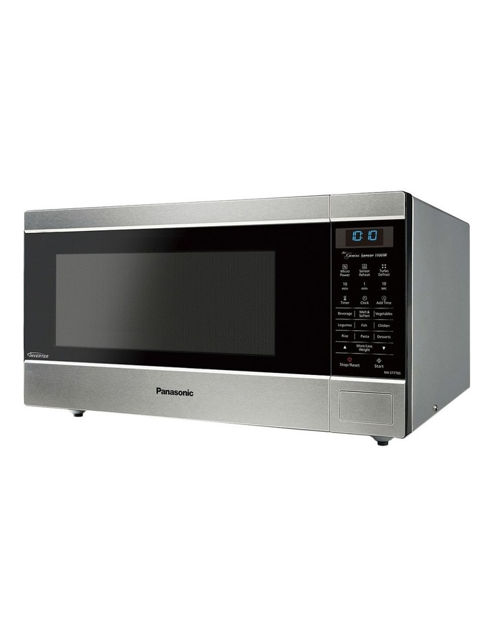 44L Microwave Stainless Steel NN-ST776SQPQ image 2