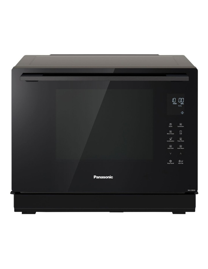31L Convection Steam Microwave Oven Black NN-CS89LBQPQ image 1