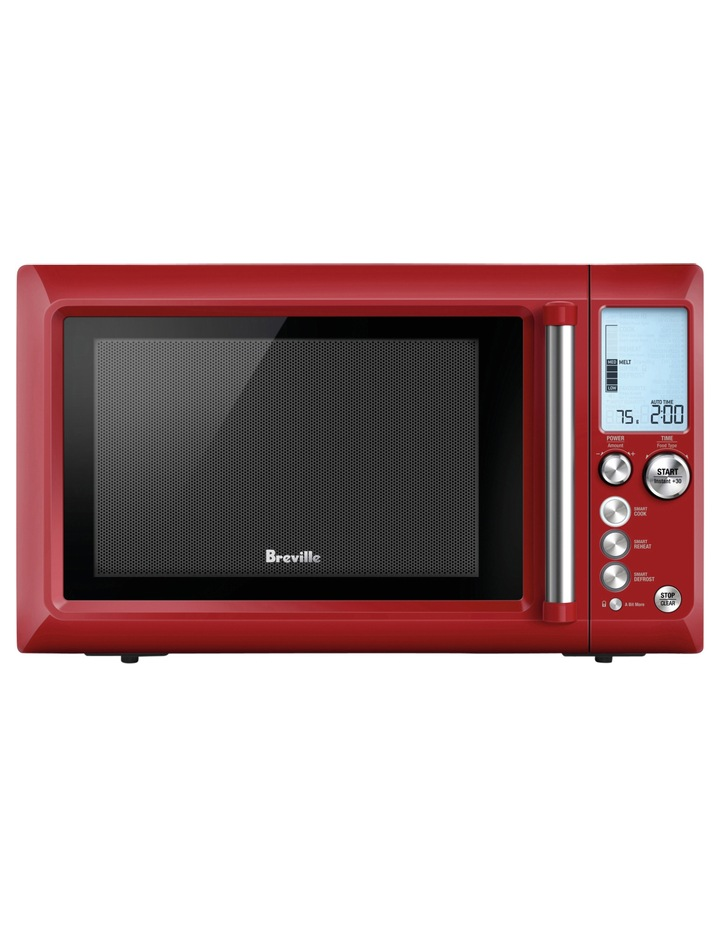 the Quick Touch Microwave Cranberry BMO735CRN image 2