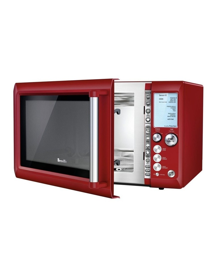 the Quick Touch Microwave Cranberry BMO735CRN image 1