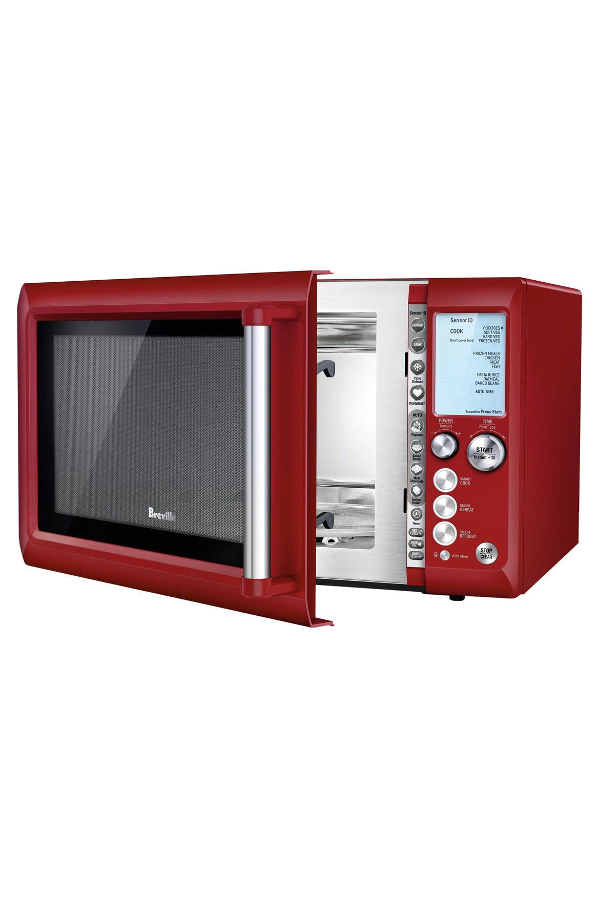Breville The Quick Touch Microwave Bmo735crn Myer Online