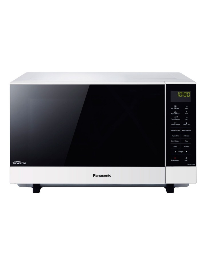 NN-SF564WQPQ Flatbed Inverter Microwave Oven: White image 1