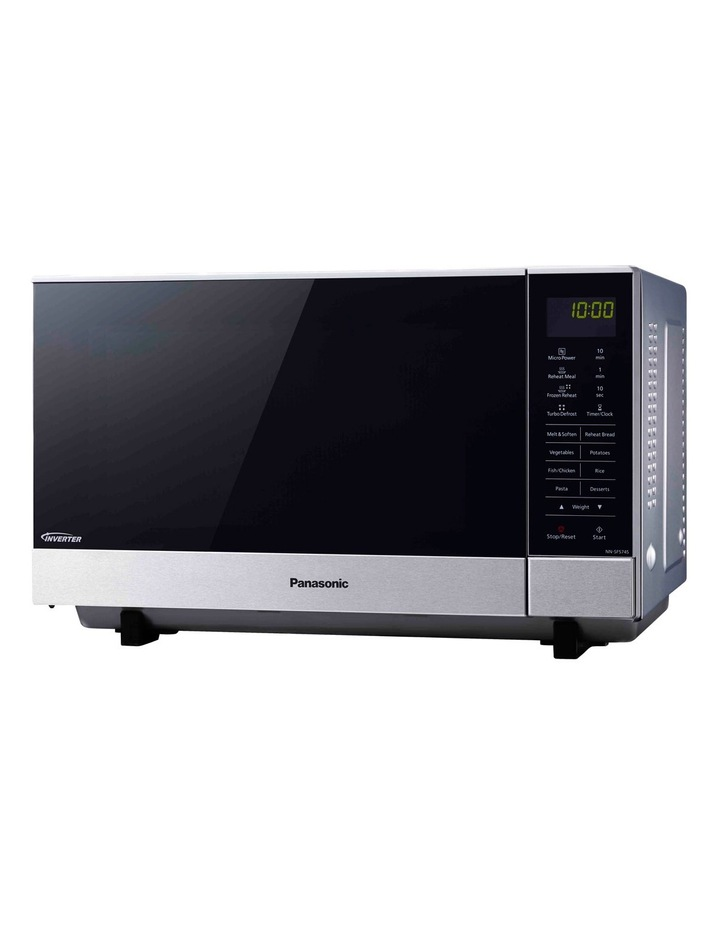 Panasonic 27L Microwave: Stainless Steel SF574S