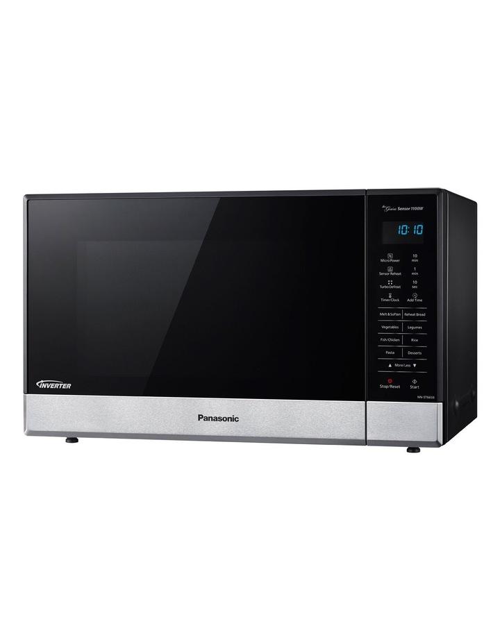 Nn-St665Bqpq Inverter Sensor Microwave Oven: Black & Stainless Steel image 1