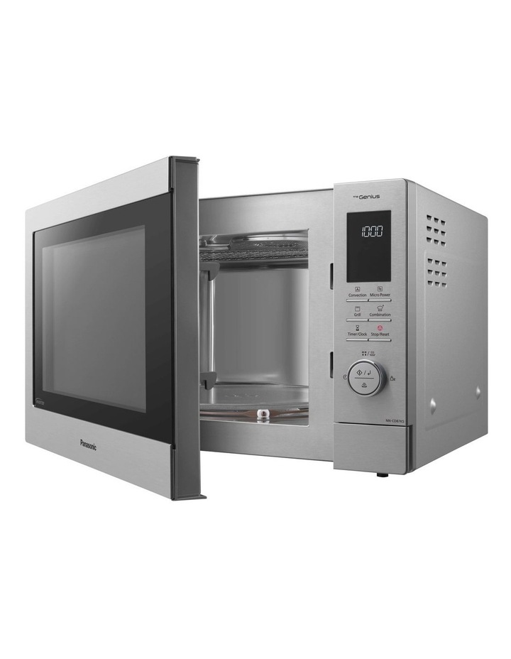 34L Convection Microwave Oven Stainless Steel NN-CD87KSQPQ image 1